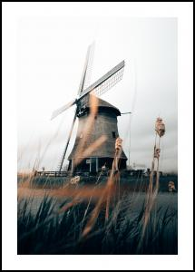 Lagervaror egen produktion Dutch Windmill Poster