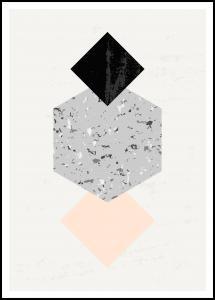 Bildverkstad Abstract Geometry I Poster