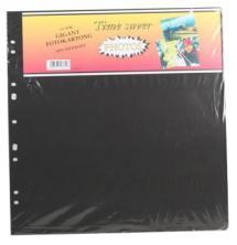 Albumblätter Timesaver Gigant - 10 schwarze Bögen
