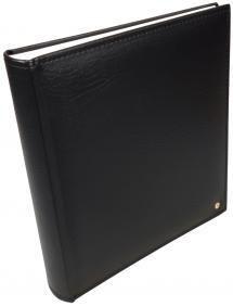 Henzo Henzo Lonzo Album - Schwarz - 28x30 cm (70 weiße Seiten / 35 Blatt)