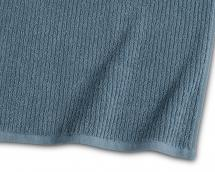Borganäs of Sweden Badetuch Stripe Frottee - Blau 65x130 cm