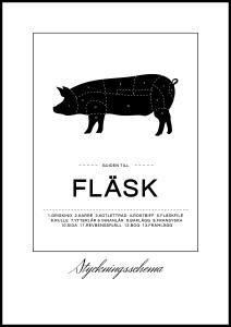 Lagervaror egen produktion Zuschnitte Fleisch