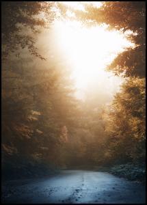 Lagervaror egen produktion Autumn Misty Road