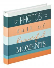 Walther Moments Photos - 30x31 cm (100 weiße Seiten / 50 Blatt)