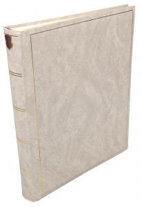 Henzo Henzo Basic Line Fotoalbum Weiß - 30x36 cm (80 weiße Seiten / 40 Blatt)