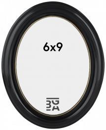 Estancia Eiri Mozart Oval Schwarz 6x9 cm