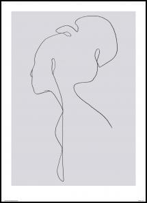 Jörgen Hansson Art Female lines III