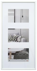 Walther Galeria Collage-Rahmen Weiß - 3 Bilder (10x15 cm)