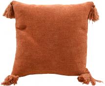 Miljögården Kissenbezug Tassle - Orange 45x45 cm