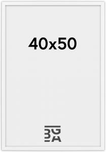 Galleri 1 Edsbyn Weiß 40x50 cm