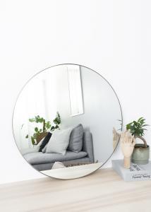 Artlink Spiegel Antik-Messing 70 cm ø