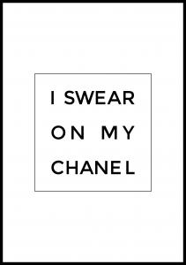 Bildverkstad I swear on my chanel