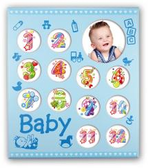 ZEP Zep Baby Galerie Blau - 13 Bilder