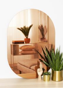 KAILA KAILA Spiegel Oval Rose Gold 70x100 cm