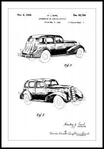 Bildverkstad Patentzeichnung - La Salle II Poster
