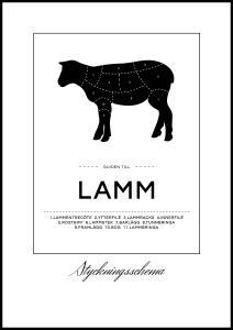 Bildverkstad Zuschnitte Lamm