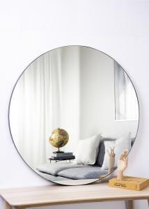 Artlink Spiegel Schwarz 110 cm ø