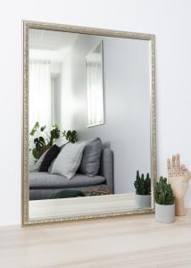 Artlink Spiegel Nostalgia Silber 50x70 cm