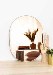 KAILA KAILA Spiegel Oval Rose Gold 30x40 cm