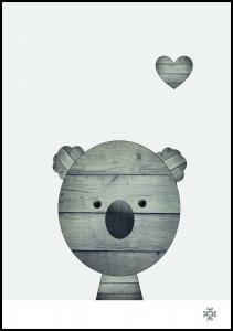 Bildverkstad Wood koala
