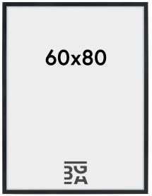 Stilren Schwarz 60x80 cm