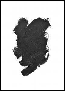 Bildverkstad Paintbrush Black Poster