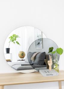 Incado Spiegel Clear & Warm Grey 80x100 cm