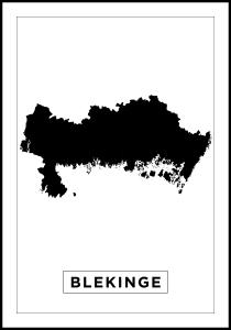 Bildverkstad Map - Blekinge - White
