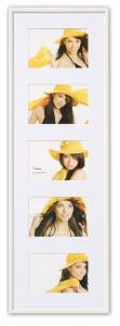 Walther New Lifestyle Collage-Rahmen Weiß - 5 Bilder (10x15 cm)