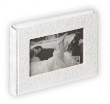 Walther Music Album - 22x16 cm (40 weiße Seiten / 20 Blatt)