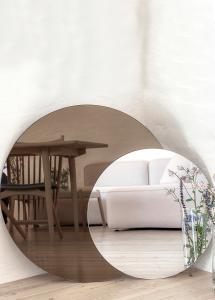 Incado Spiegel Dark Bronze & Clear 80x100 cm
