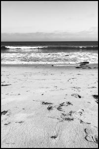 Bildverkstad Malibu Beach sand