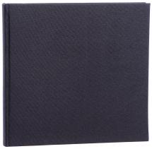 Focus Base Line Canvas Schwarz 26x25 cm (80 weiße Seiten / 40 Blatt)