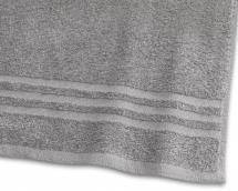Borganäs of Sweden Handtuch Basic Frottee - Grau 50x70 cm