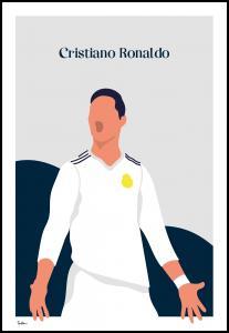 Bildverkstad Cristiano Ronaldo Poster
