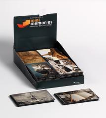 Walther Mini Memories Album Travel 6 Varianten - 40 Bilder 10x15 cm - 36-pack