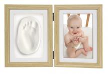 ZEP Abel Handabdruck Aufklappbarer Bilderrahmen 10x15 cm