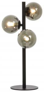 Aneta Belysning Tischlampe Molekyl 3 - Schwarz/Rauch