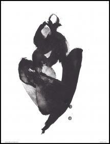 Bildverkstad Sitting Woman l Poster