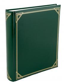 Henzo Henzo Promo Album Grün - 29x33 cm (100 weiße Seiten / 50 Blatt)