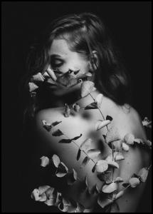 Bildverkstad Back Of Flowers Poster