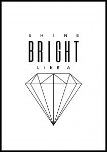 Lagervaror egen produktion Shine Bright like a diamond