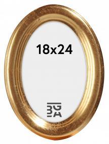 Bubola e Naibo Molly Oval Gold 18x24 cm
