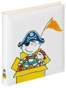 Walther Kinderalbum Pirat Kindergarten - 28x30,5 cm (50 weiße Seiten / 25 Blatt)