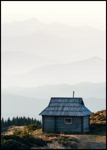 Bildverkstad Lonely Cabin Poster