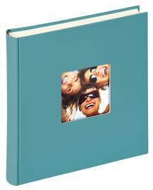 Walther Fun Album Türkis - 30x30 cm (100 weiße Seiten / 50 Blatt)