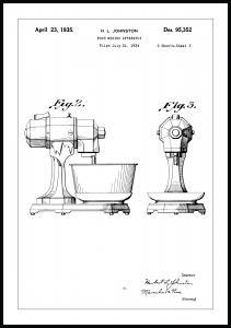 Bildverkstad Patentzeichnung - Mixer II