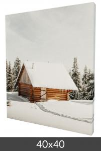 Egen tillverkning - Kundbild Leinwandbild 40x40 cm - 18 mm