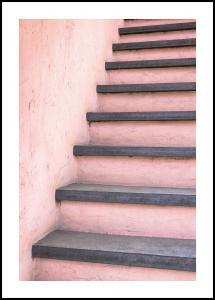 Lagervaror egen produktion Pink stairs