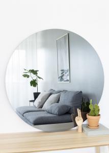 KAILA KAILA Runder Spiegel Smoked Grey 110 cm Ø